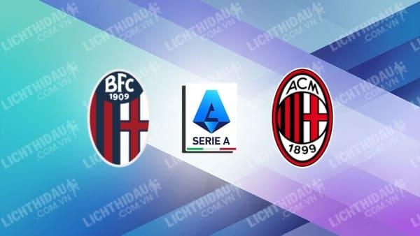 Video kết quả Bologna vs AC Milan, vòng 9 VĐQG Italia