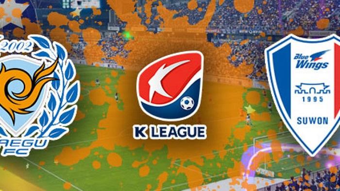 Trực tiếp Daegu vs Suwon Samsung Bluewings, 13h00 ngày 24/10, giải VĐQG Hàn Quốc