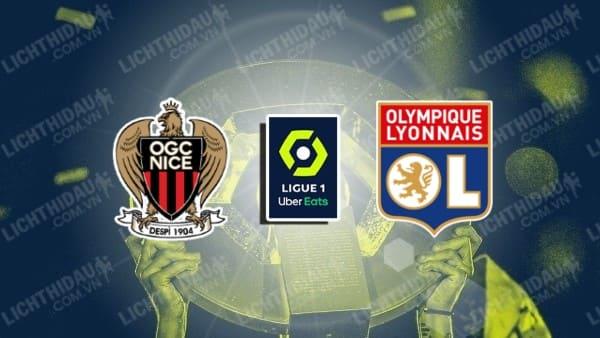 Trực tiếp Nice vs Lyon, 18h00 ngày 24/10, vòng 11 VĐQG Pháp