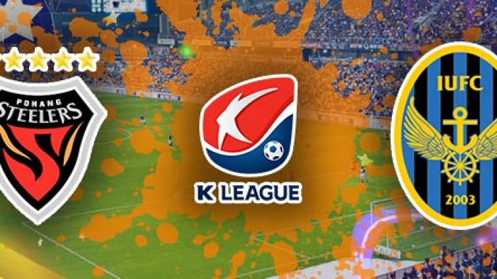Trực tiếp Pohang Steelers vs Incheon United, 13h00 ngày 24/10, giải VĐQG Hàn Quốc