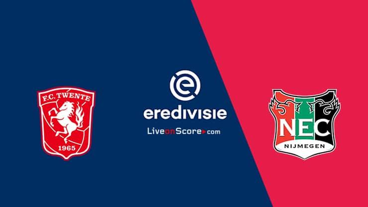 Trực tiếp Twente vs N.E.C. Nijmegen, 17h15 ngày 24/10, giải VĐQG Hà Lan